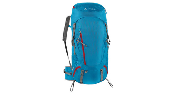 VAUDE Asymmetric 48+8 Backpack Women teal blue